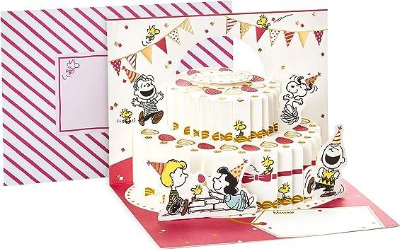 Prime Amazon Com Hallmark Pop Up Peanuts Birthday Card Peanuts And Personalised Birthday Cards Paralily Jamesorg