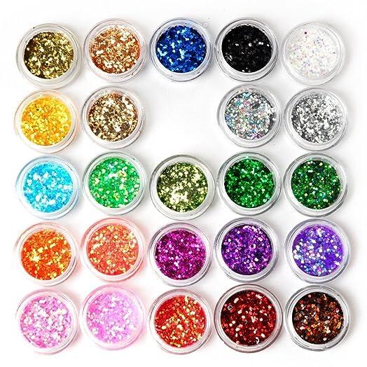 Dtol 24box nail art decoration glitter paillette dust powder dtol 24box nail art decoration glitter paillette dust powder prinsesfo Images