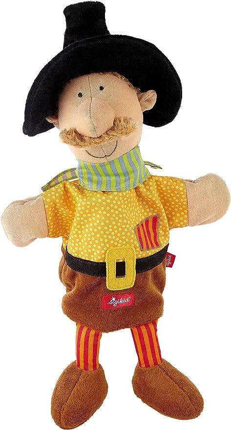 Sigikid 49040 - Marioneta de Mano con diseño de Bandido: Amazon.es ...