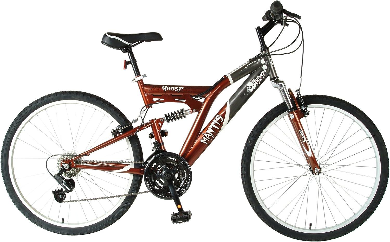 MANTIS Ghost Bicicleta de 26 Pulgadas, Negro/Bronce para Hombre ...