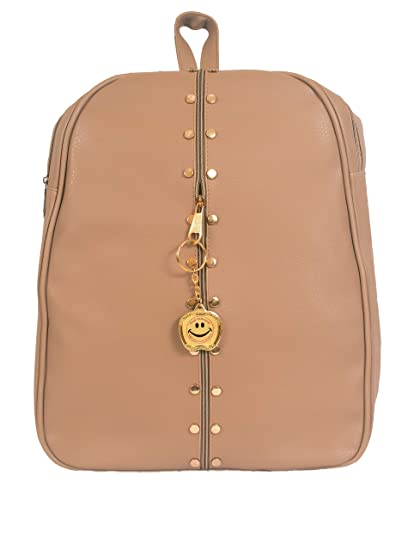d2311bd6670878 Buy Beets Collection Student Shoulder Backpack for Women & Girls Bag (Khaki  Color) Online at Low Prices in India - Amazon.in