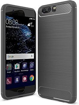 IVSO Funda Huawei P10 Plus Slim Soft Silicon Shockproof Caso ...