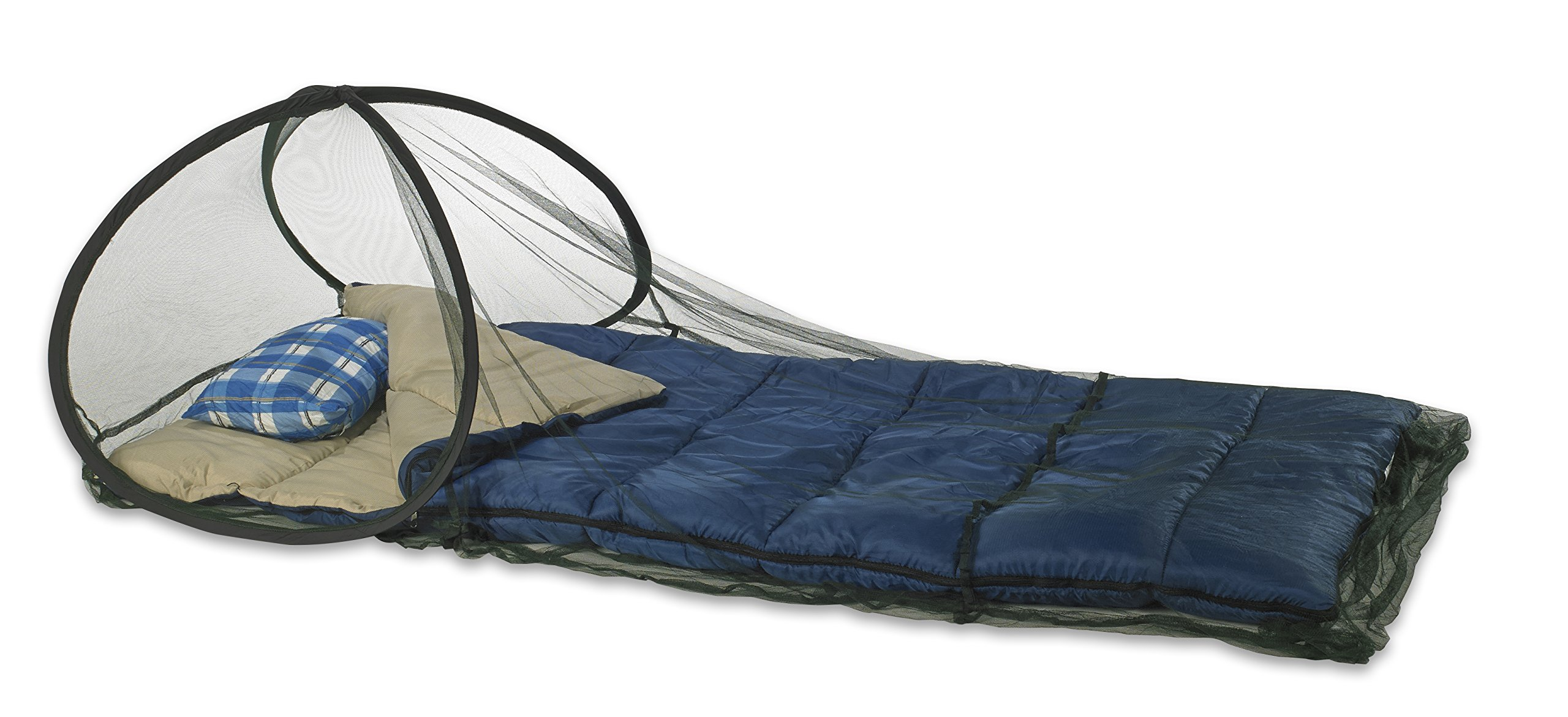 Atwater Carey Mosquito Net Treated with Insect Shield Permethrin Bug Repellent, Pop-up Screen Ideal for Sleeping Bags by Atwater Carey