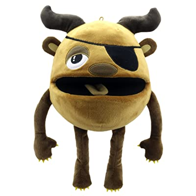 The Puppet Company Baby Monsters Brown Monster Hand Puppet: Toys & Games