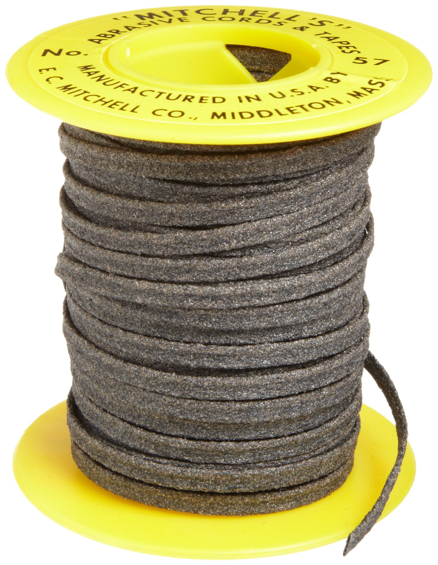 Mitchell Abrasives 57 Flat Abrasive Tape, Aluminum Oxide 150 Grit 1/8'' Wide x 25 Feet by Mitchell Abrasives