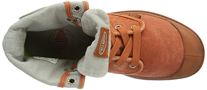 Palladium Pallabrouse Baggy, Botines para Mujer, Orange Rust/Vapor 832, 42 EU: Amazon.es: Zapatos y complementos