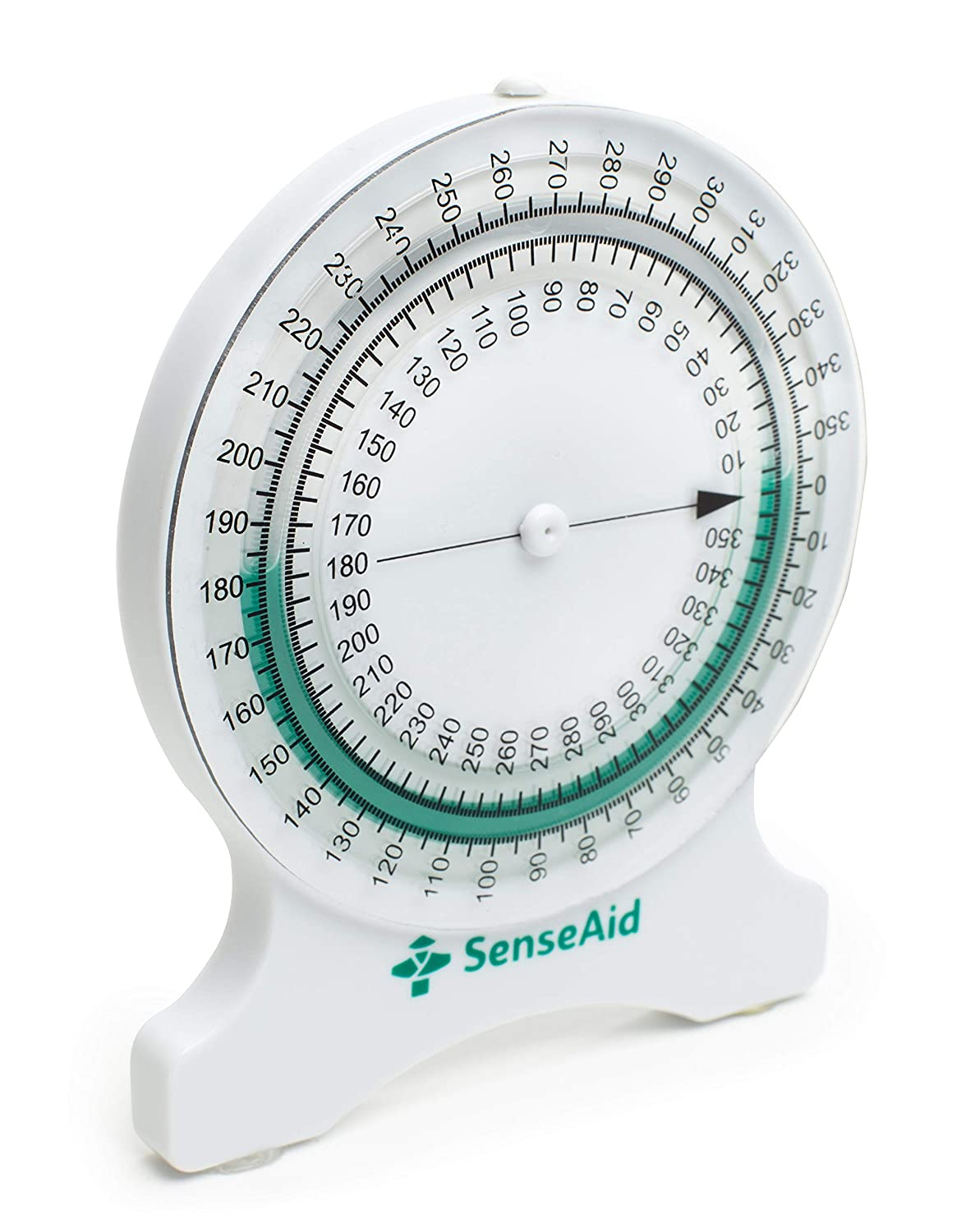 Inclinometer for Physical Therapy | No-Leak PT Inclinometer for Range of Motion (ROM) Measurements by SenseAid. for Students and Professionals