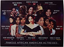 """777 Tri-Seven Entertainment Famous African American Actresses Poster Art Print Series 1, 24"""" x 18"""""""