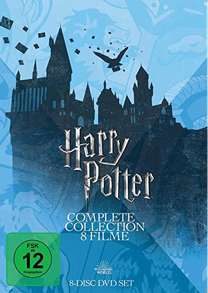 Harry Potter Complete Collection - 8 Filme Alemania DVD: Amazon.es ...