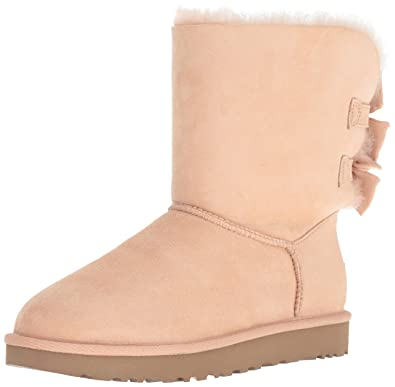 f38ee5936d Amazon.com  UGG Women s W Bailey Bow Short Ruffle Fashion Boot  Shoes