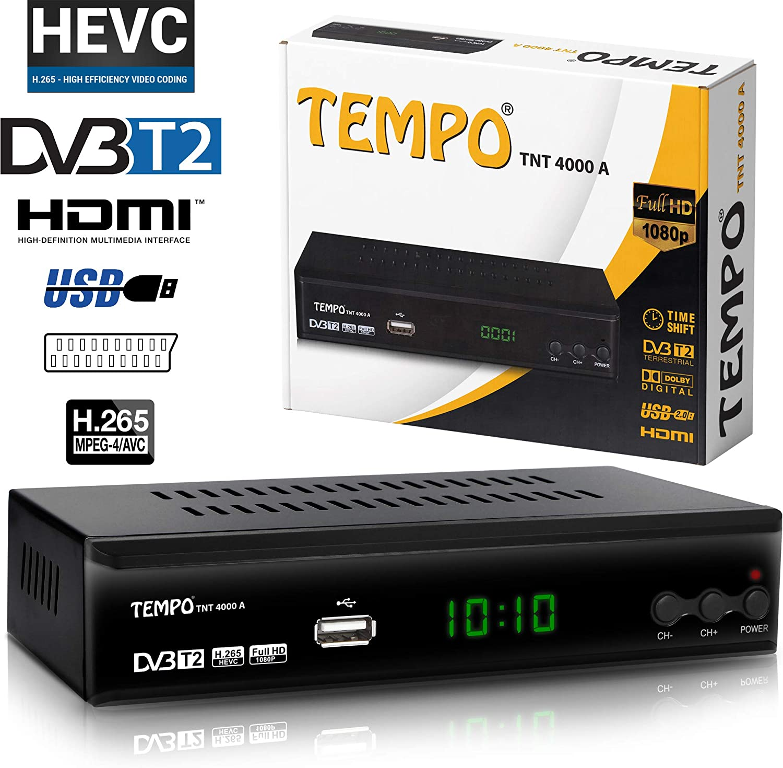 Hd Line Tempo 4000 A Dvbt2 Receiver Full Hd 1080p 4k Für Tv Hevc H 265 Hdmi Scart Usb 2 0 Dvbt 2 Dvb T2 Dvb T2 Dvbt 2 Reciver Resiver