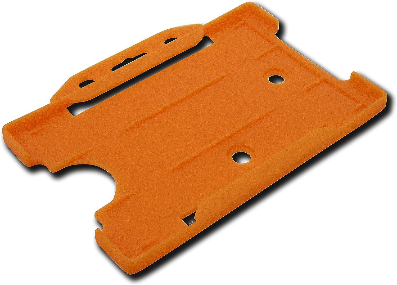 arancione ID Card It 25 x porta badge per cordini e bobine retrattili