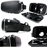Padded 3D Virtual Reality VR Headset Glasses - Compatible with The Motorola Moto Z2 Play - by DURAGADGET