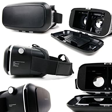 Amazon.com: Padded 3D Virtual Reality VR Headset Glasses - Compatible with the Motorola Moto X Play, Moto X Style, Moto X Pure Edition, DROID MAXX 2, ...