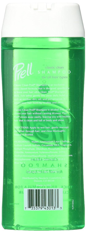 Amazon Prell Shampoo Classic Clean135 Fl Oz Pack Of 5 Beauty