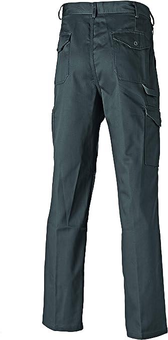 Gris Pantalone Da Lavoro Uomo Dickies WD884 Redhawk Super 34S Grigio