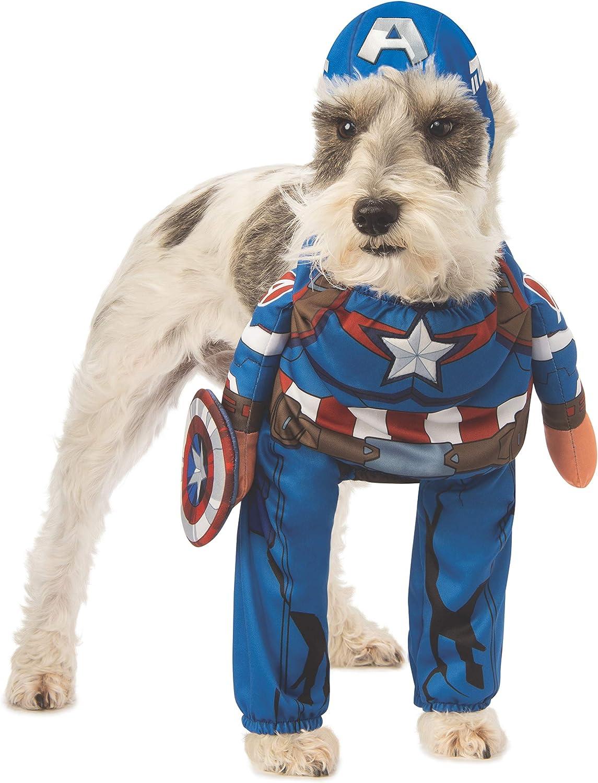 Amazon.com: Rubies Marvel - Disfraz para mascota, diseño de ...