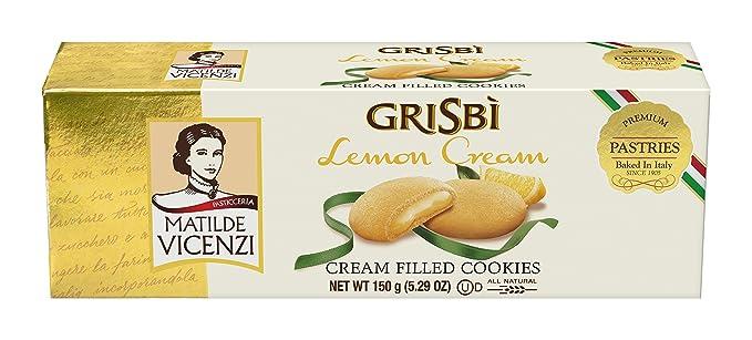Matilde Vicenzi Grisbi, Dulce de azúcar (Crema limón) - 3 de 150 gr