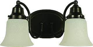 product image for Framburg 8412 SP 2-Light Magnolia Sconce, Satin Pewter