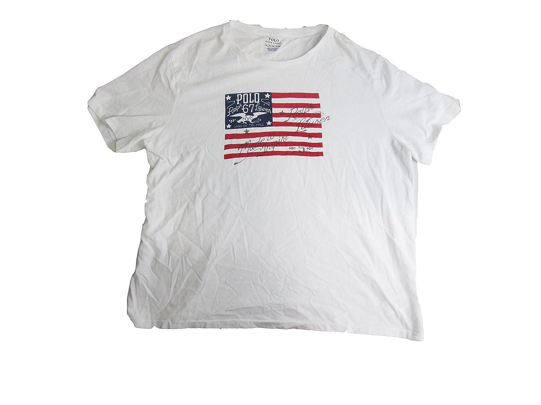 ee6c6b6f662a Polo Ralph Lauren Men's Custom Slim Fit Cotton T-Shirt at Amazon Men's  Clothing store: