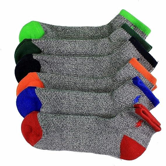 c565c152 Polo Ralph Lauren Men's 6-Pair Tipped Sport Quarter Socks Sz. 10-13; Fits  Shoe 6-12.5