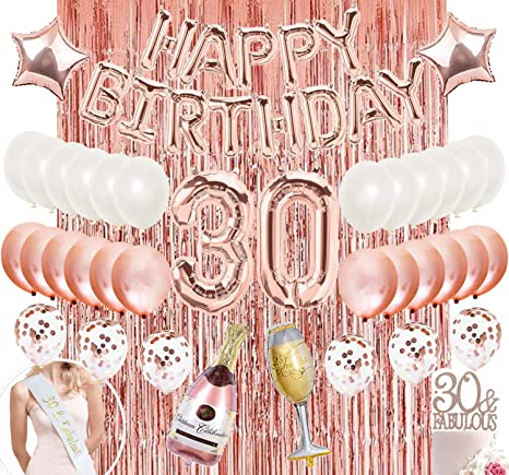 30th birthday banner 30 birthday party banner 30 banner 30 birthday decoration birthday party decor 30th birthday decor 30 birthday for her