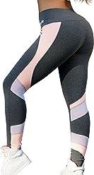 e992c2c2cd9d8 OXYFIT Leggings 64110 Rose Charcoal -Sexy Workout Leggings- Cute Yoga  Leggings