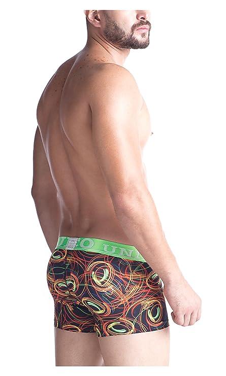Mundo Unico Colombian Underwear Men Microfiber Short Boxers Briefs Print Dark XL at Amazon Mens Clothing store: