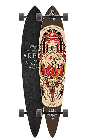 Arbor Timeless GT Longboard Complete Skateboards, 46 , Black