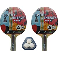 Kounga Giant Dragon Spirit Energy Pala de Ping Pong, Unisex Adulto