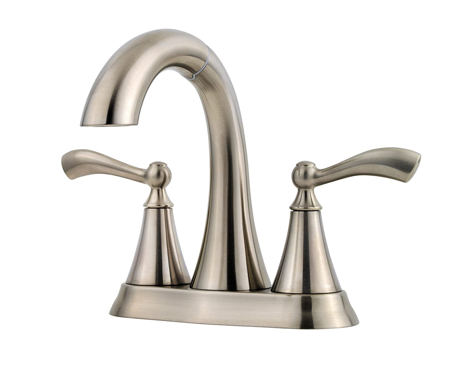 Pfister Grandeur 2 Handle 4 Centerset Bathroom Faucet Brushed