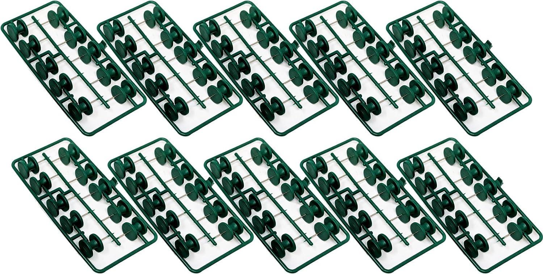 100 Large Headed Drawing Wood Pins, 15mm Thumbtack Push Pin Tack TAZ