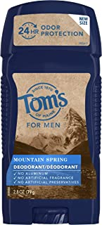 product image for Tom's of Maine, Men's Long Lasting Deodorant - Mountain Spring, 2.8 Ounce