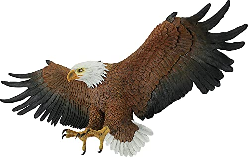 Design Toscano Freedom's Pride American Bald Eagle Patriotic Wall Sculpture