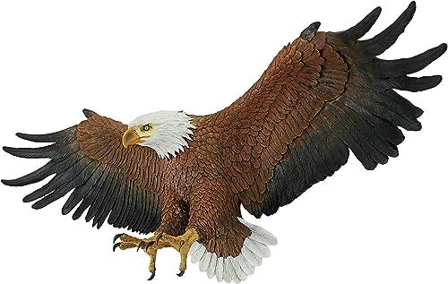 Design Toscano Freedom's Pride American Bald Eagle Patriotic Wall Sculpture