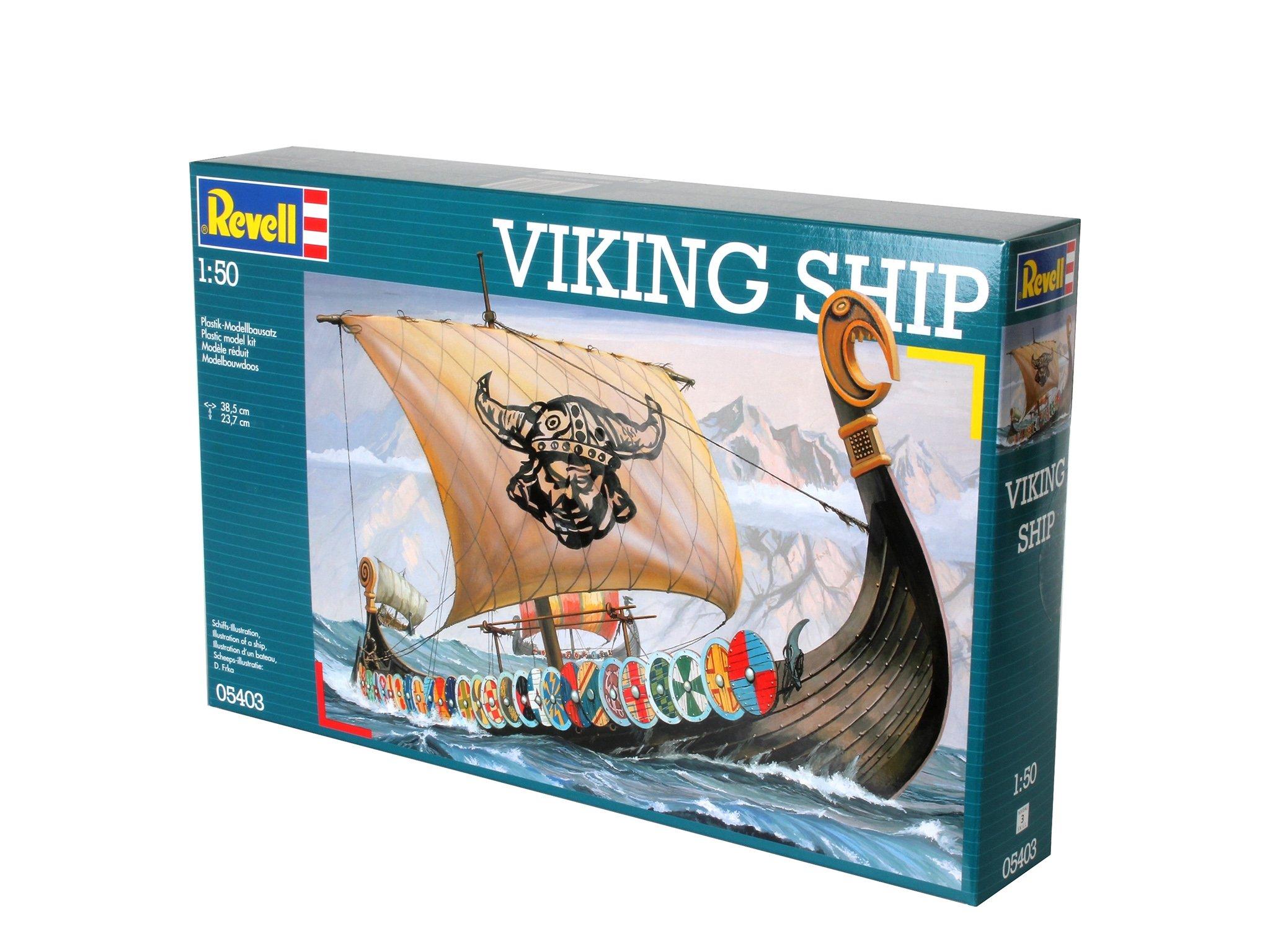 Revell of Germany Viking Ship Plastic Model Kit