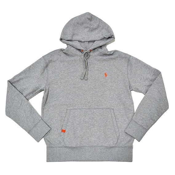 polo ralph lauren orange hoodie
