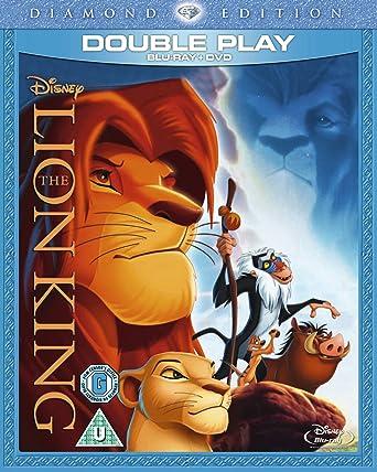 amazon com the lion king diamond edition blu ray dvd region
