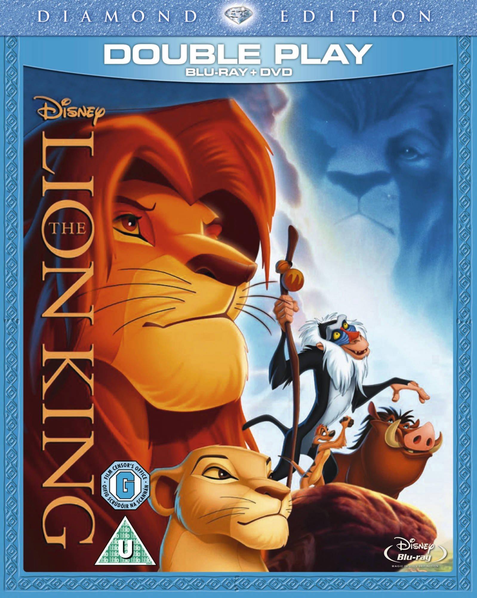The Lion King Diamond Edition Blu Ray Dvd Region Free 8717418324841 Amazon Com Books