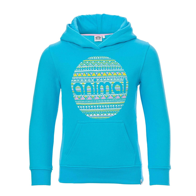 Bermuda bleu 9-10 ans Animal - Sweat-Shirt à Capuche - Fille