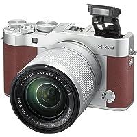 Fujifilm X-A3 24.2MP Full HD 1080p Wi-Fi Mirrorless Digital Camera with 16-50mm F3.5-5.6 OIS II Lens (Brown)