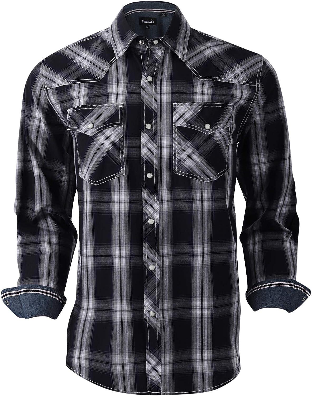 VENZULIA - Camisa de manga larga para hombre, diseño de ...