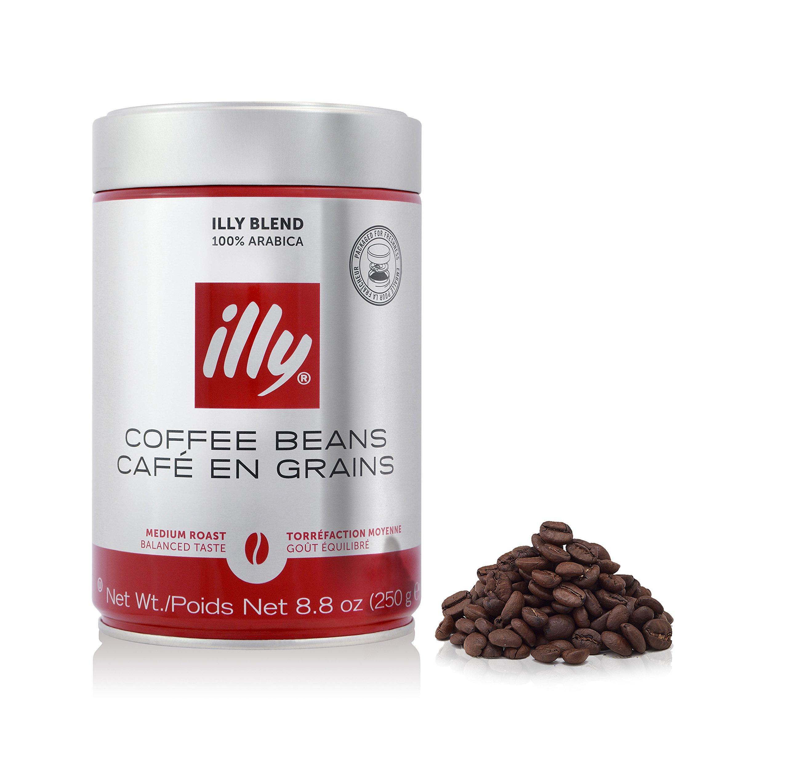 illy Whole Bean Medium Roast Coffee 8.8 oz Tin - Single Pack