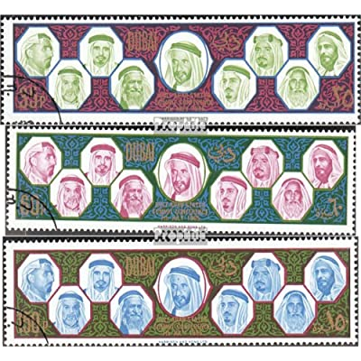 dubai 208-210 (complète.Edition.) 1966 Les États de persique Golfes (Timbres pour les collectionneurs)