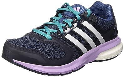 new styles 14e44 f5aaf adidas Damen Questar W Laufschuhe, Multicolore (MinBleuFtwwhtPurglo), 38