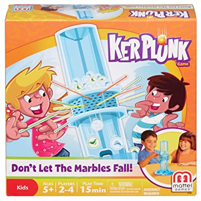 Mattel Games Ker Plunk Game: Toys & Games