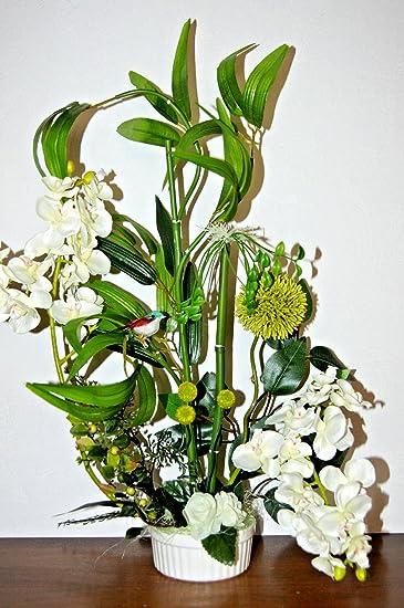 Exc Orchidee Arrangement Gesteck Kunstblume Tischdeko Buro Deko