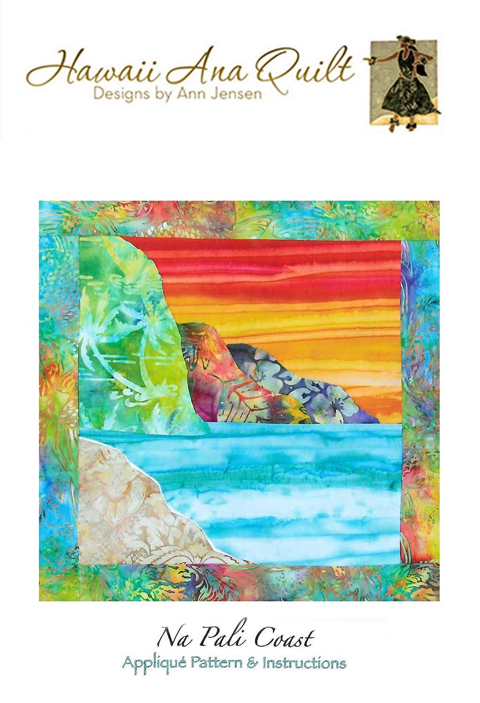 Amazon Com Na Pali Coast Beach Applique Quilt Pattern Ocean