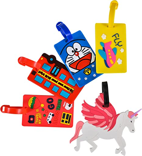 Amazon.com: Maxone - Juego de 5 etiquetas para maletas con ...