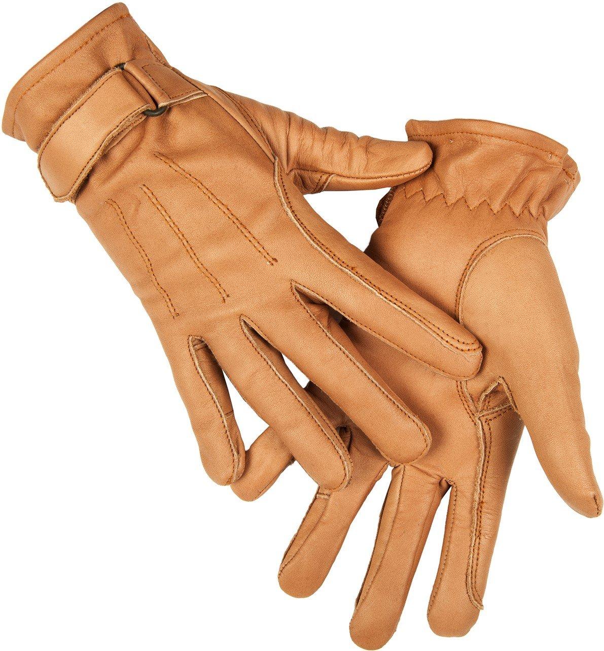 HKM Damen Lederhandschuh aus Nappaleder Handschuhe